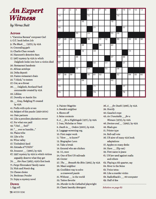 MS 140SUM crossword