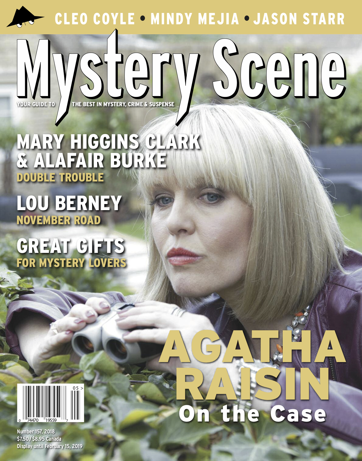 157 Holiday cover, Agatha Raisin