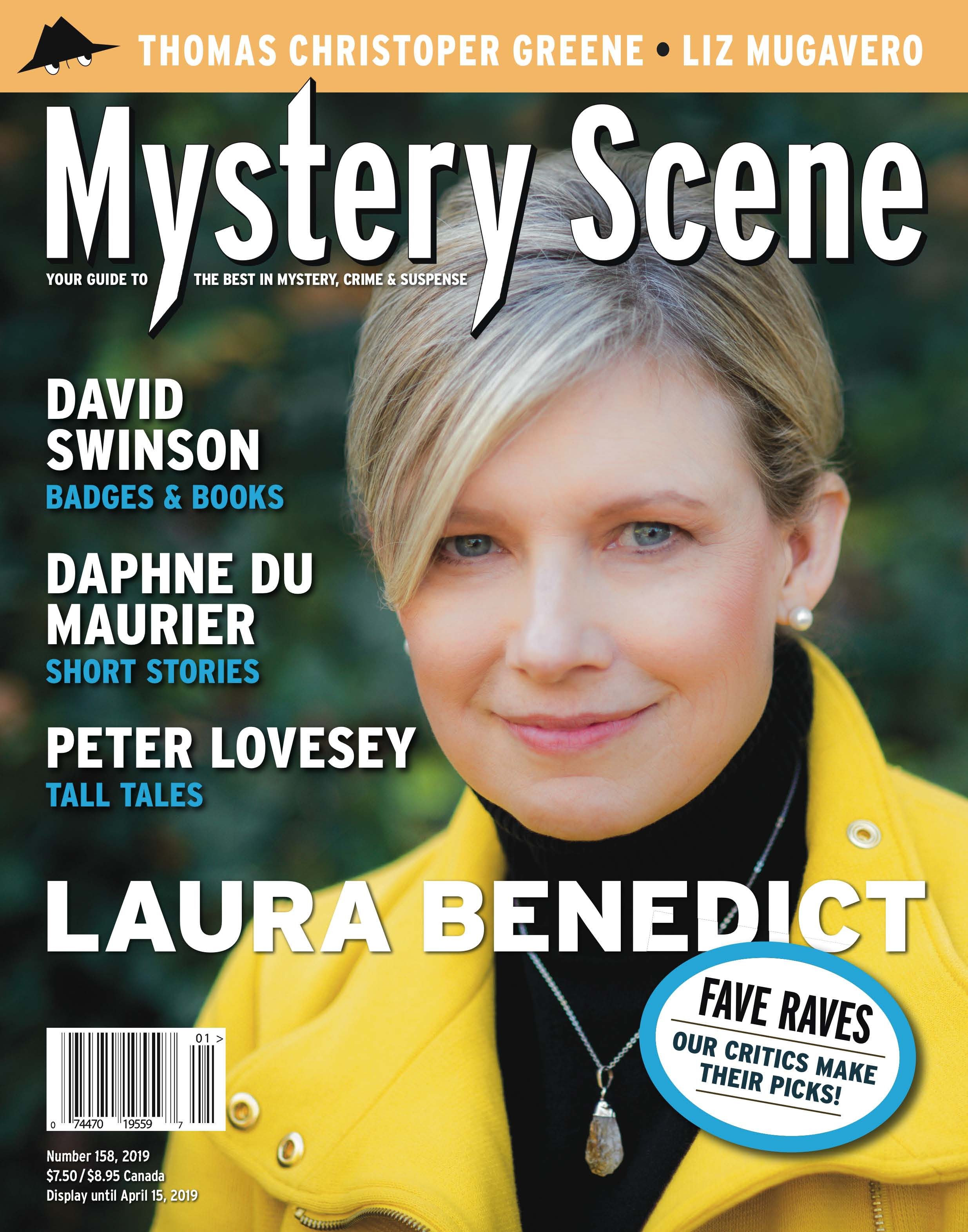 158 Winter cover, Laura Benedict