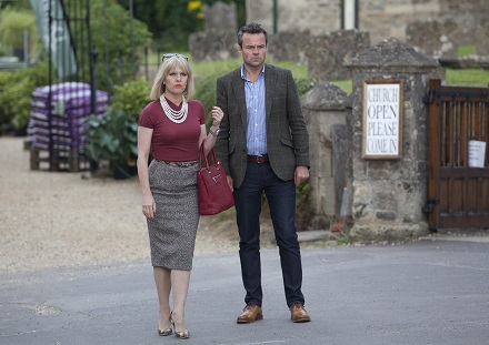 Agatha Raisin Ashley Jensen and Jamie Glover