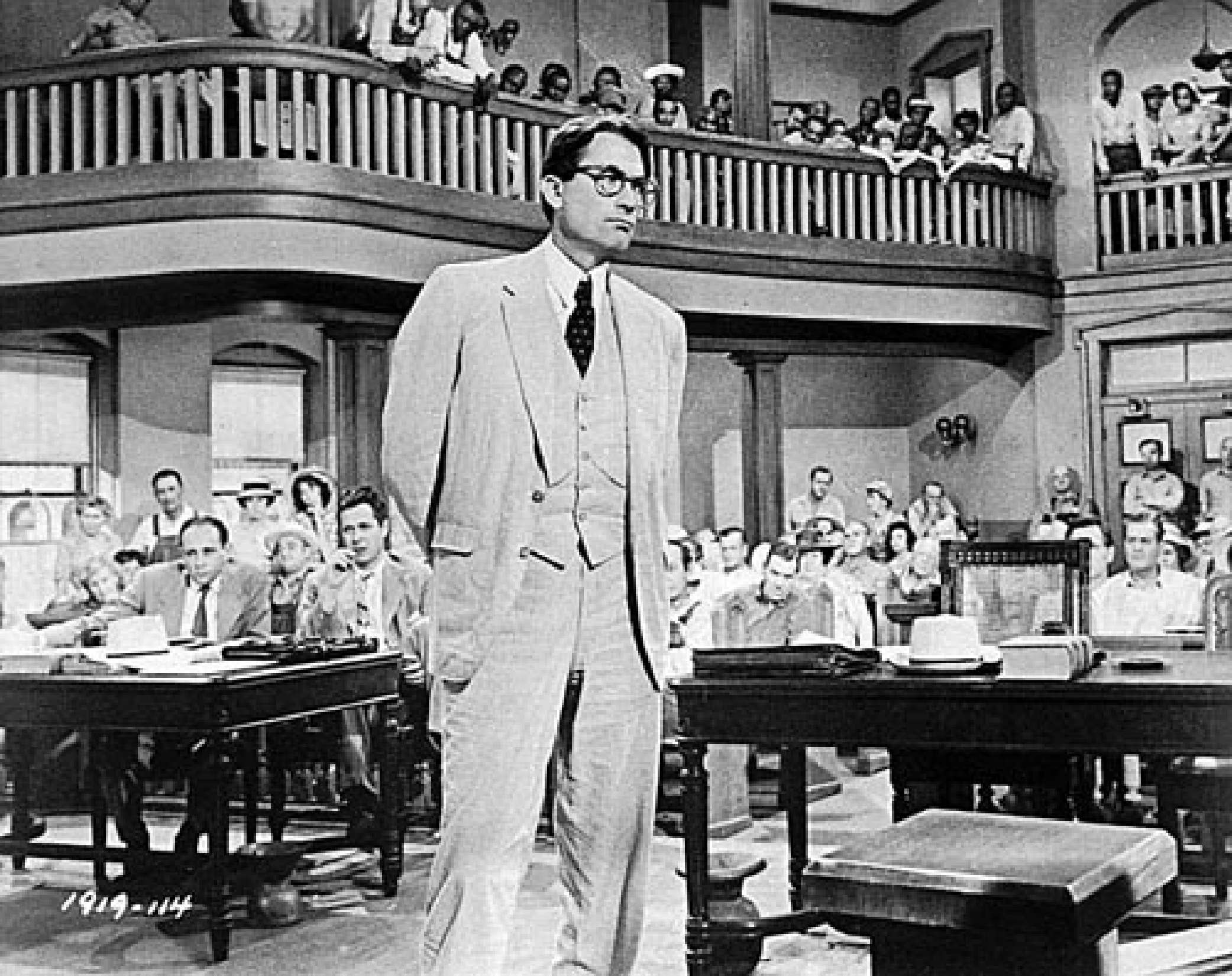 essay on the trial scene in to kill a mockingbird