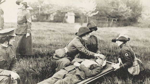 English nurses WWI