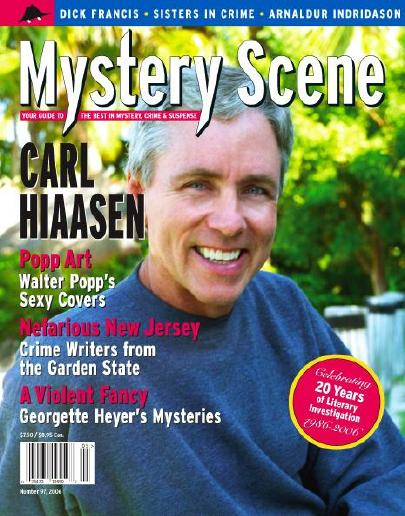 Mystery Scene Back Issue #97, Holiday Issue 2006 (USA), Carl Hiaasen