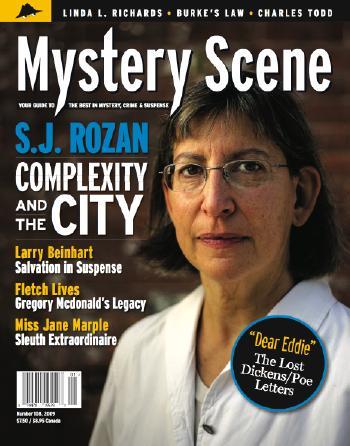 Mystery Scene Back Issue #108, Winter 2009 (USA)