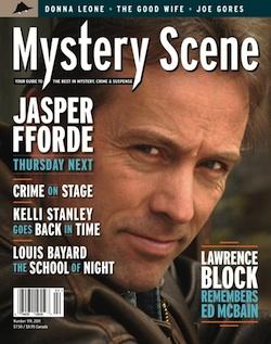 Mystery Scene Back Issue #119, Spring 2011 (USA), Jasper Fforde