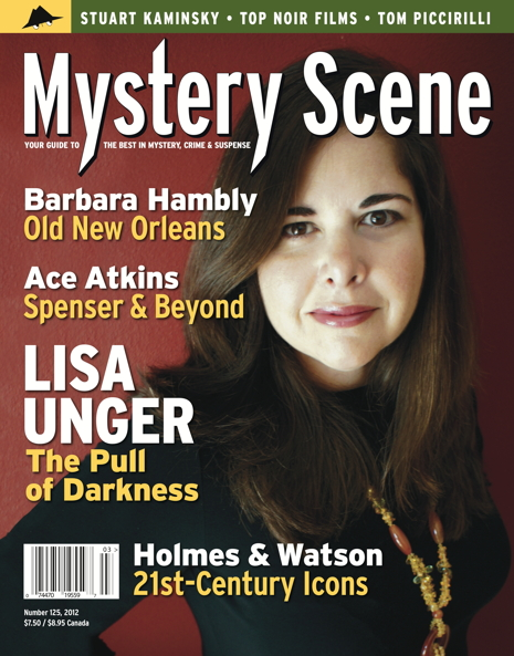 Mystery Scene Back Issue #125, SUMMER 2012 (USA), Lisa Unger