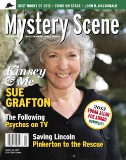 Mystery Scene Back Issue #128, WINTER 2013 (USA), Sue Grafton