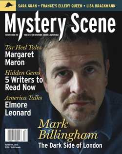 Mystery Scene Back Issue #131, FALL 2013 (USA), Mark Billingham