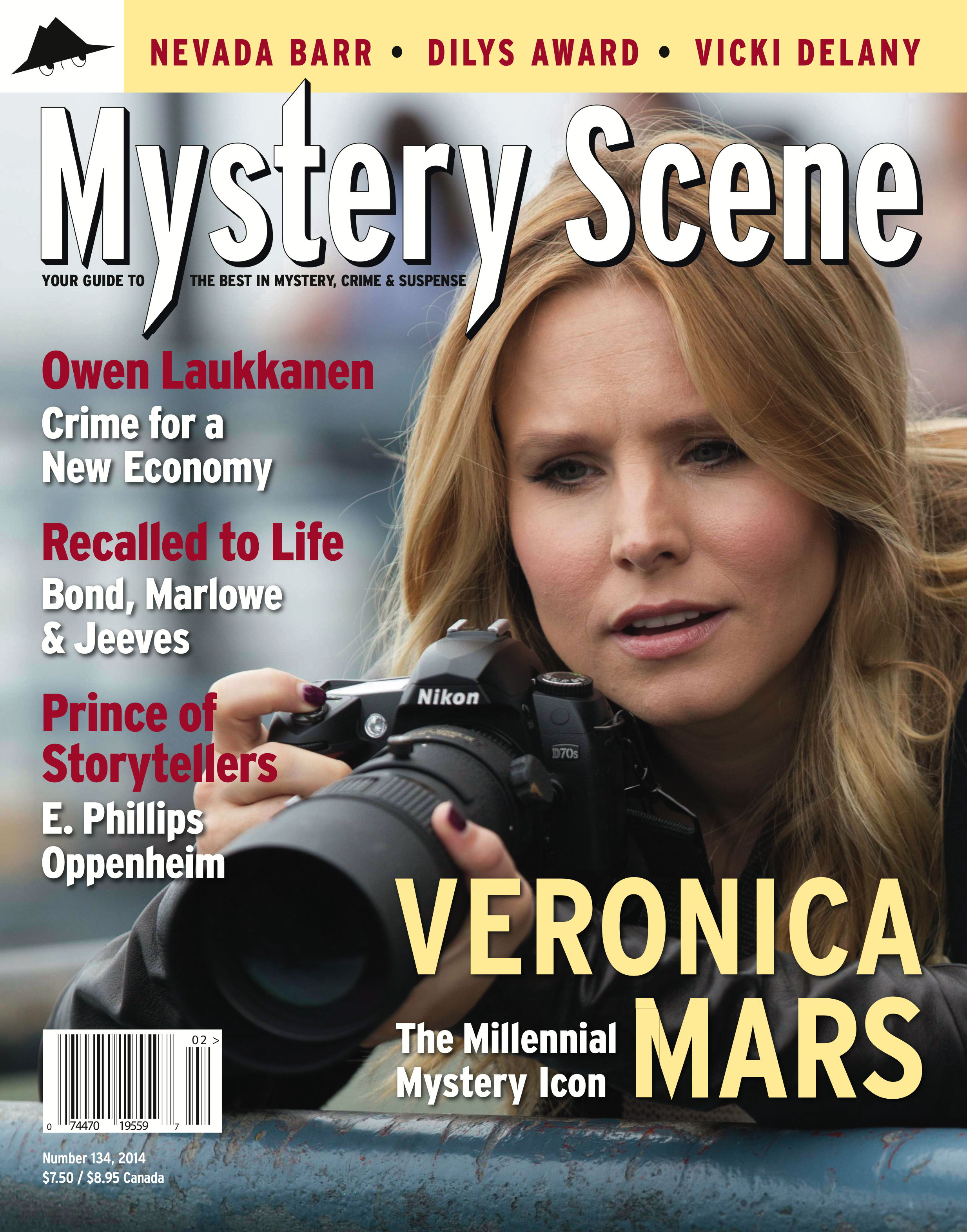 Mystery Scene Back Issue #134, Spring 2014 (International)