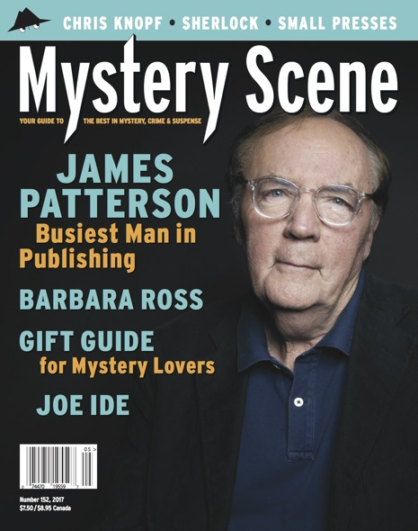 Mystery Scene Back Issue #152, James Patterson