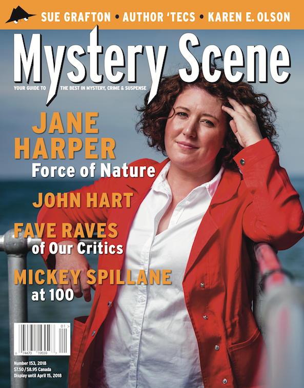Mystery Scene Back Issue #153, Jane Harper