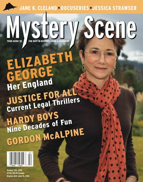 Mystery Scene Back Issue #154, Elizabeth George