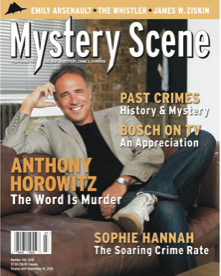 Mystery Scene Back Issue #155, Anthony Horowitz