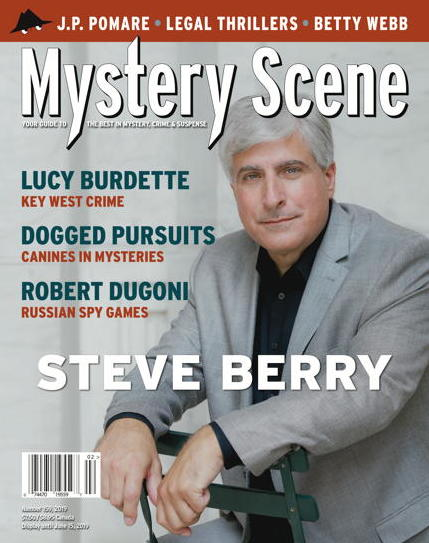Mystery Scene Back Issue #159, Steve Berry