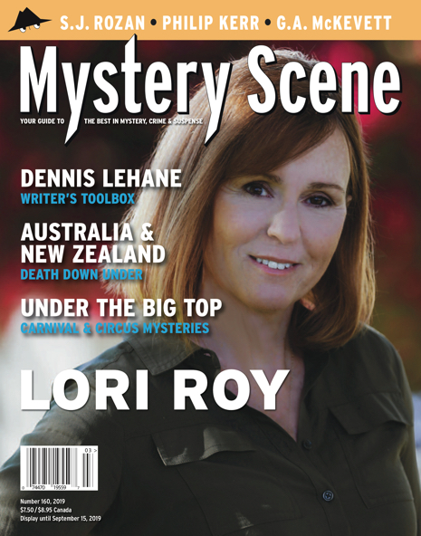 Mystery Scene Issue #160, Lori Roy