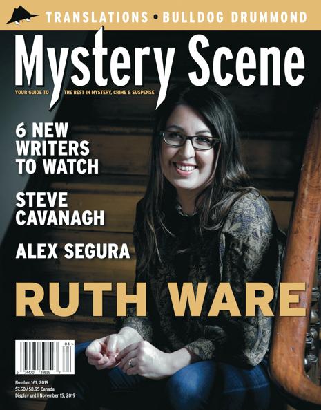 Mystery Scene Issue #161, Ruth Ware (Canada)