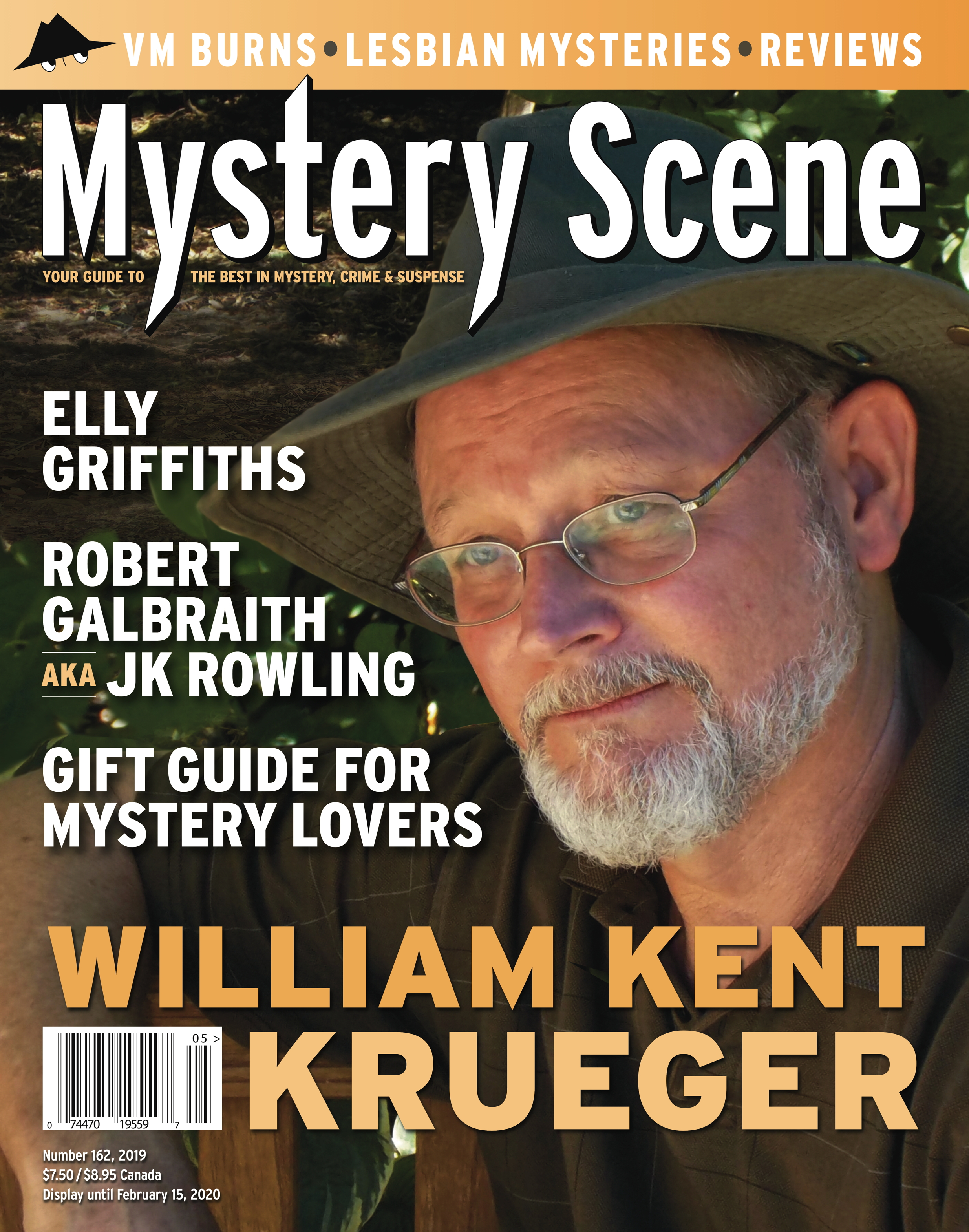 Mystery Scene Issue #162, William Kent Krueger