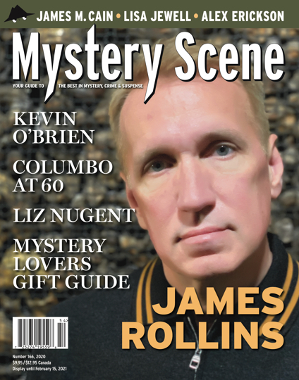 Mystery Scene Issue #166, James Rollins