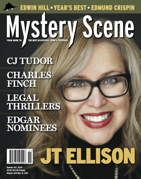 Mystery Scene Issue #167, J.T. Ellison