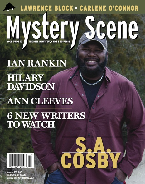 Mystery Scene Issue #169, S.A. Cosby