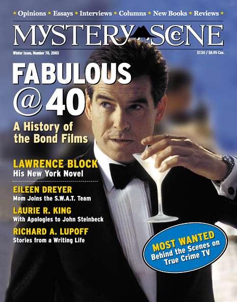 Mystery Scene Back Issue #78, Winter 2003