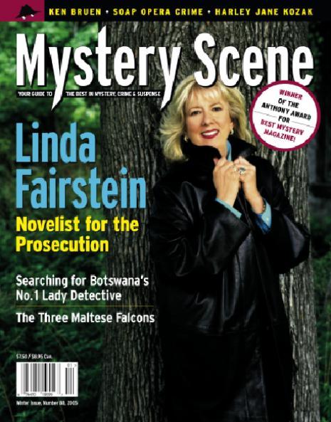 Mystery Scene Back Issue #88, Winter 2005 (USA), Linda Fairstein