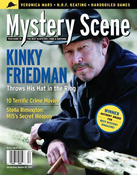 Mystery Scene Back Issue #89, Spring Issue 2005 (USA), Kinky Friedman