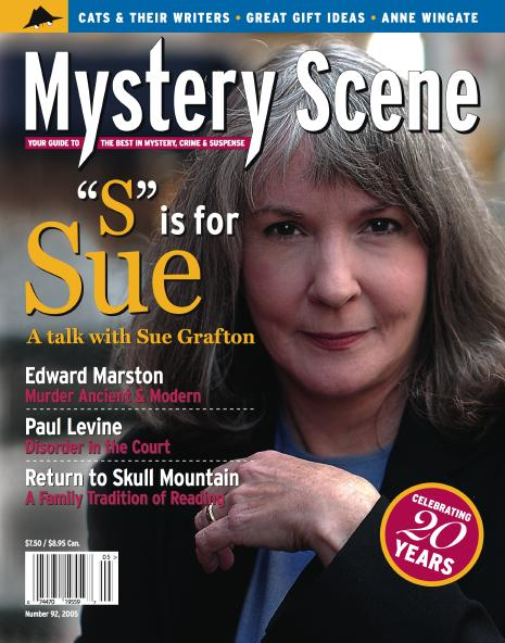 Mystery Scene Back Issue #92, Holiday Issue 2005 (USA), Sue Grafton