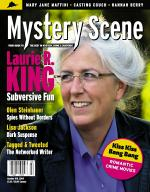 Mystery Scene Back Issue #109, Spring 2009 (USA), Laurie R. King